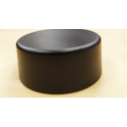 Peana 40mm altura, Redonda  12cm, Negra. Marca Peanas.net. Ref: 9005.