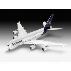 "Airbus A380-800 Lufthansa ""New Livery"". Escala 1:144. Marca Revell. Ref: 03872."