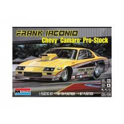 frank iaconio chevy camaro pro-stock. Escala 1:24. Marca Revell-Monogram. Ref: 14483.