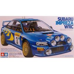 Coche Subaru Impreza WRC Monte carlo ´98. Escala 1:24. MarcaTamiya. Ref: 24199.