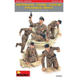 """Figuras para tanques Alemanes """" France 1944 """" Especial Edición. Escala 1:35. Marca Miniart. Ref: 35252."""