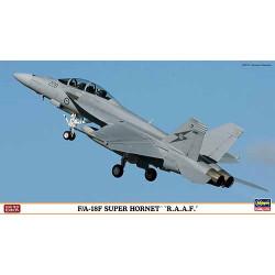 """F/A-18F SUPER HORNET """"R.A.A.F."""". Escala 1:72. Marca Hasegawa. Ref: 01986."""
