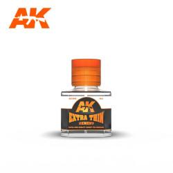 EXTRA THIN CEMENT. Bote 40 ml. Marca AK Interactive. Ref: AK12002.