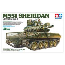U.S. Airborne Tank M551 Sheridan (Vietnam War). Escala 1:35. Marca Tamiya. Ref: 35365.