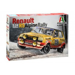 Renault R5 Alpine Rally. Escala 1:24. Marca Italeri. Ref: 3652.