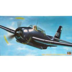 AP34 TBM-3 Avenger. Escala 1:72. Marca Hasegawa. Ref: 51334.