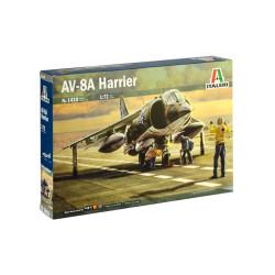 AV-8A HARRIER. Con calcas Españolas. Escala 1:72. Marca Italeri. Ref: 1410.
