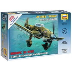 Junkers Ju-87B2 Stuka. Escala 1:72. Marca Zvezda. Ref: 7306.