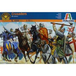 Figuras Cruzados de la Edad Media. Siglo XI. Escala 1:72.  Marca Italeri. Ref: 6009.
