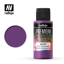 Premium Violeta Fluoresecente. Premium Airbrush Color. Bote 60 ml. Marca Vallejo. Ref: 62037.