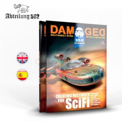 DAMAGED – SPECIAL SCIFI BOOK. Marca AK Interactive. Ref: ABT733.