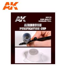 Déposito de purificación para Aerógrafo. Marca AK Interactive. Ref: AK9129.
