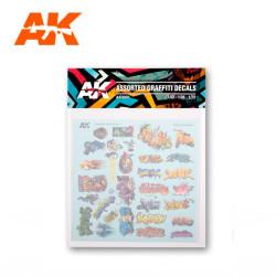 Calcas De Graffitis Set2. Marca AK Interactive. Ref: AK9091.