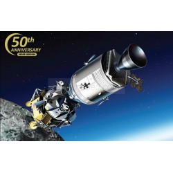 Apollo 11 Lunar Approch CSM+LM. Escala 1:48. Marca Dragon. Ref: 11009.
