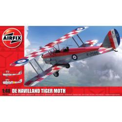 De Havilland D.H.82a Tiger Moth. Escala 1:48. Marca Airfix. Ref: A04104.
