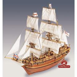 H.M.S. Bounty, 1789. Escala 1:50. Marca Constructo. Ref: 80817.