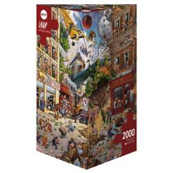 Apocalipsis, 97 x 69 cm. Puzzle Triángular, 2000 pz. Marca Heye. Ref: 29577.