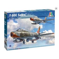 F-86E Sabre. Escala 1:48. Marca Italeri. Ref: 2799.