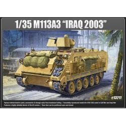 Tanque M113, Iraq 2003. Batalla de las Ardenas. Escala 1:35. Marca Academy. Ref: 13211.