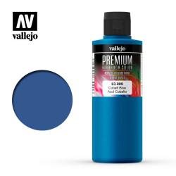 Premium Azul Cobalto. Premium Airbrush Color. Bote 200 ml. Marca Vallejo. Ref: 63009.