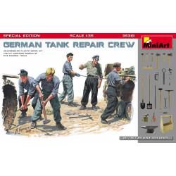 1Figuras GERMAN TANK REPAIR. Especial Edición. Escala 1:35. Marca Miniart. Ref: 35319.