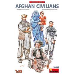 Figuras Civiles Afganos. Escala 1:35. Marca Miniart. Ref: 38034.