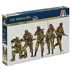 Infantería Americana - Años 90 (Ex-Esci). Escala 1:72. Marca Italeri. Ref: 6168.