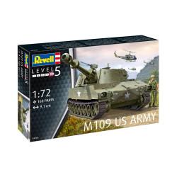 M109 US Army. Escala 1:72. Marca Revell. Ref: 03265.