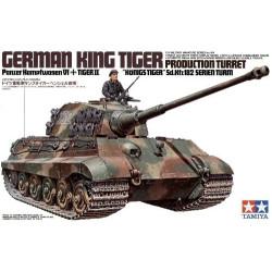 German King Tiger Production Turret. Escala 1:35. Marca Tamiya. Ref: 35164.