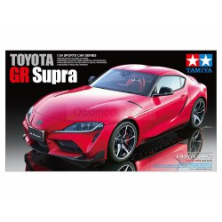 Toyota GR Supra. Escala 1:24. MarcaTamiya. Ref: 24351.