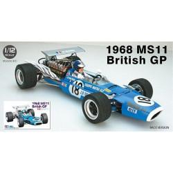Matra MS11, Gran Premio de Fórmula 1 de Inglaterra, Version de test 1968. Escala 1:12. Marca Tamiya. Ref: 13001.