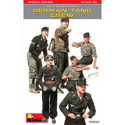 Figuras para Tanque Alemán, Edición Limitada. Escala 1:35. Marca Miniart. Ref: 35283.