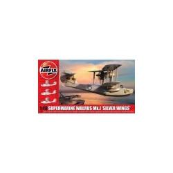 Supermarine Walrus Mk.I 'Silver Wings'. Escala 1:48. Marca Airfix. Ref: A09187.