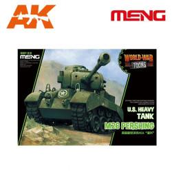 U.S. Heavy Tank M26 Pershing. Serie world war toons. Marca Meng. Ref: WWT-010.