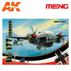 He 177 BOMBER (Cartoons Models). Serie world war toons. Marca Meng. Ref: MPLANE-003.