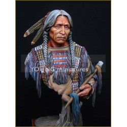 Sioux Indian . Escala 1:10. Marca Young miniatures. Ref: YH1818.