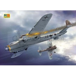 Dornier Do-17 E. Escala 1:72. Marca RSmodels. Ref: RSMI92071.