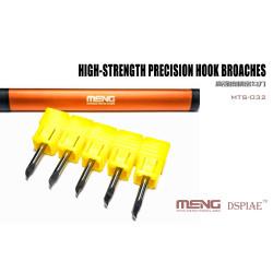 Brocas de Gancho de precisión de Alta Resistencia. Marca Meng. Ref: MTS-032.
