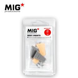 BOOT PRINTS AMERICAN MODERN BOOTS. Escala 1:35. Marca Mig productions. Ref: MP35-407.