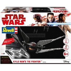 Kylo Ren´s Tie Fighter, Star Wars. Build & Play. Easy - Click System. Escala 1:70. Marca revell. Ref: 06760.