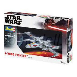 X-Wing Fighter , Star Wars. Build & Play. - Click System. Escala 1:57 Marca revell. Ref: 06779.
