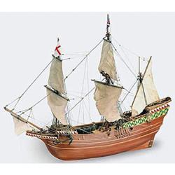 Navio Mayflower, 1620. Escala 1:64. Marca Artesanía Latina. Ref: 22451.