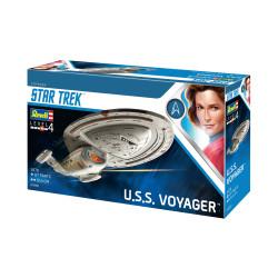 U.S.S. VOYAGER, Star Trek. Escala 1:670. Marca revell. Ref: 04992.