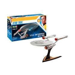 U.S.S. Enterprise NCC-1701 (TOS), Star Trek. Escala 1:600. Marca revell. Ref: 04991.