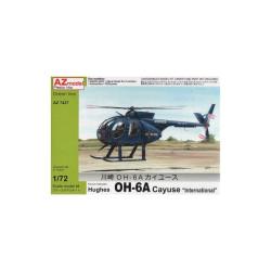 """Hughes OH-6A Cayuse """"International"""". Escala 1:72. Marca AZmodel. Ref: AZ7427."""