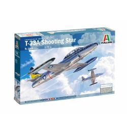 Lockheed T-33A Shooting Star. Escala 1:72. Marca Italeri. Ref: 1444.