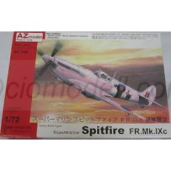 Supermarine Spitfire FR Mk.IXC Recce. Escala 1:72. Marca AZmodel. Ref: AZ7444.