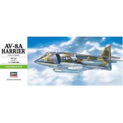 AV-8A HARRIER (U.S.M.C.ATTACKER) . B10. Escala 1:72. Marca Hasegawa. Ref: 00240.
