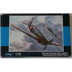 Morane-Saulnier. MS.406C1. Escala 1:72. Marca Azur. Ref: A111.