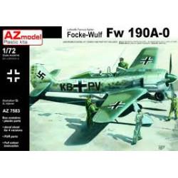 Focke -Wulf  Fw 190A.0 .Escala 1:72. Marca AZmodel. Ref: AZ7583.